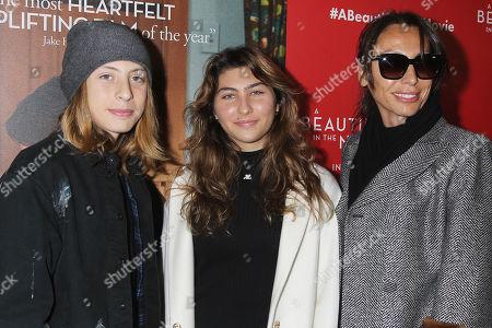 Stock Photo of Toni Cornell, Christopher Nicholas Cornell and Vicky Karayiannis