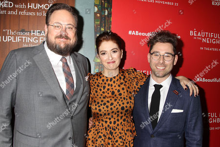 Stock Picture of Noah Harpster, Marielle Heller and Micah Fizerman-Blue