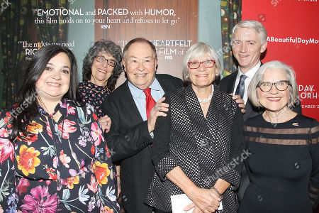 David Newell (Mr. McFeely) with The Producers of The Mister Rogers' Neighborhood