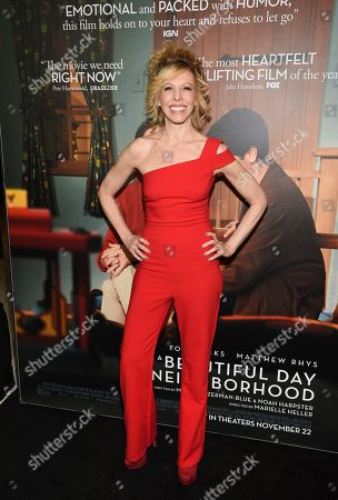 """Stock Picture of Maddie Corman attends a special screening of """"A Beautiful Day In The Neighborhood"""" at the Henry R. Luce Auditorium, in New York"""