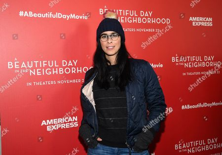 """Sarah Silverman attends a special screening of """"A Beautiful Day In The Neighborhood"""" at the Henry R. Luce Auditorium, in New York"""