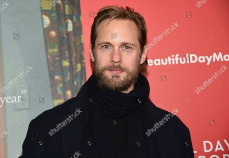 """Alexander Skarsgard attends a special screening of """"A Beautiful Day In The Neighborhood"""" at the Henry R. Luce Auditorium, in New York"""