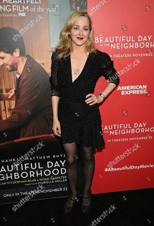 "Stock Photo of Geneva Carr attends a special screening of ""A Beautiful Day In The Neighborhood"" at the Henry R. Luce Auditorium, in New York"