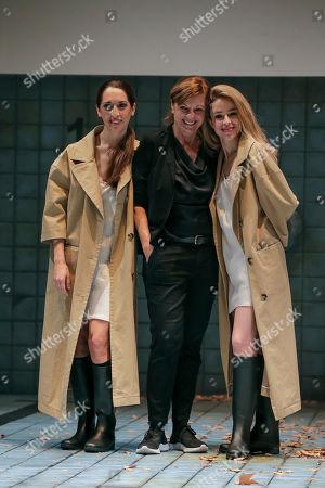 Nur Levi, director Livija Pandur and Silvia Abascal