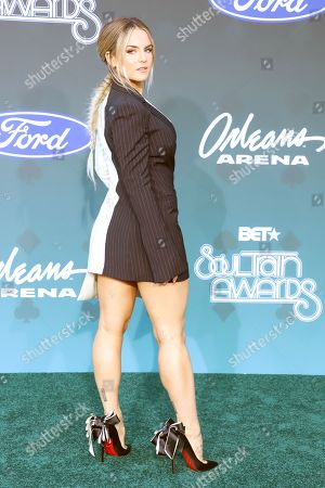 Editorial image of Soul Train Music Awards, Arrivals, Las Vegas, USA - 17 Nov 2019