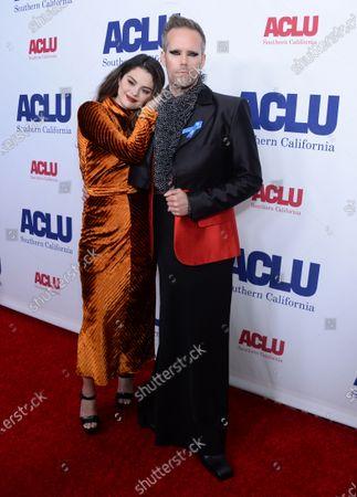 Selena Gomez and Justin Tranter