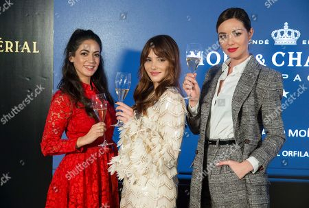 Veronica Perona, Andrea Duro and Dafne Fernandez