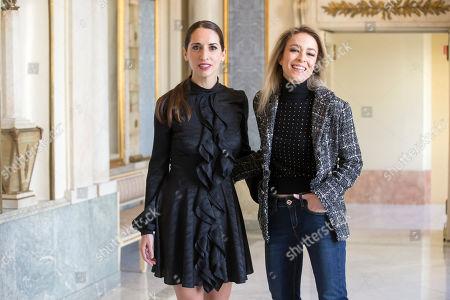 Silvia Abascal and Nur Levi