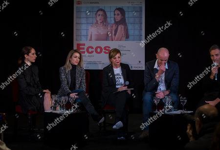 Silvia Abascal, Nur Levi, director Livija Pandur and the writer Henry Naylor
