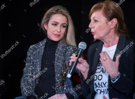 Silvia Abascal and director Livija Pandur