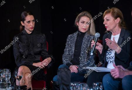 Silvia Abascal, Nur Levi and director Livija Pandur