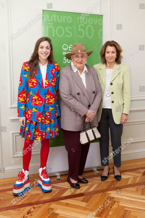 Cosima Ramirez Ruiz, Infanta Pilar and Pina Sanchez