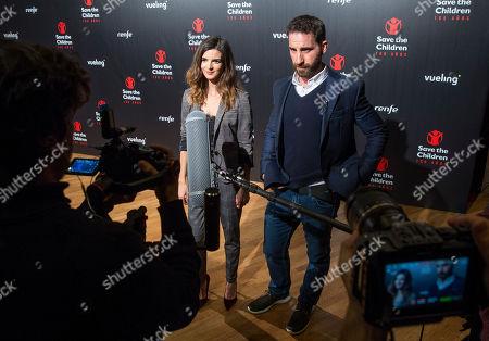 Stock Image of Clara Lago and Dani Rovira