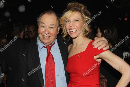 Stock Photo of David Newell and Maddie Corman
