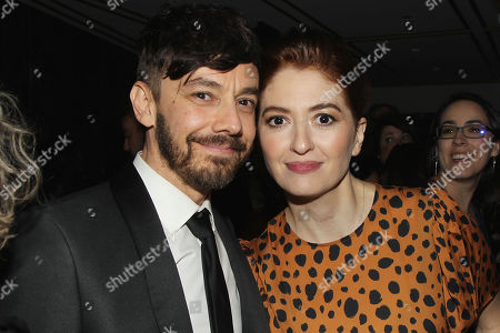 Stock Picture of Jorma Taccone and Marielle Heller