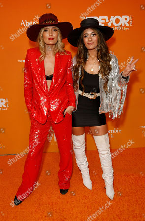 Stock Picture of Ruby Stewart and Alyssa Bonagura