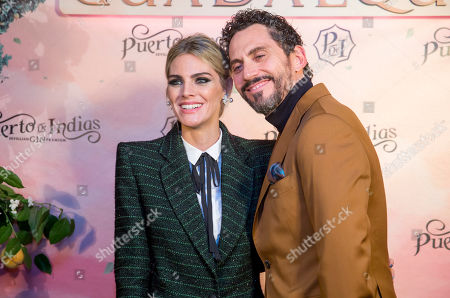Amaia Salamanca and Paco Leon