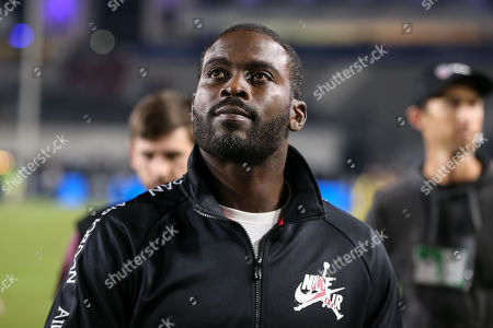 Los Angeles, CA...Michael Vick during the NFL game between Chicago Bears vs Los Angeles Rams at the Los Angeles Memorial Coliseum in Los Angeles, Ca on November, 2019. Jevone Moore