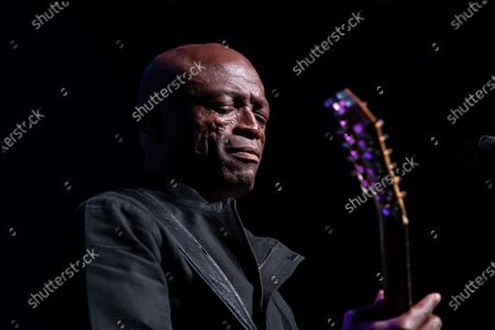 Stock Photo of Seal performs during the annual Andy Roddick Foundation Gala at ACL Live