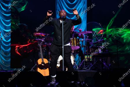 Stock Picture of Seal performs during the annual Andy Roddick Foundation Gala at ACL Live