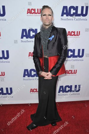 Editorial image of 2019 ACLU SoCal's Annual Bill of Rights Dinner - Arrivals, Beverly Hills, USA - 17 Nov 2019