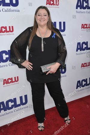 Camryn Manheim attends the 2019 ACLU SoCal's Annual Bill of Rights Dinner, in Beverly Hills, Calif