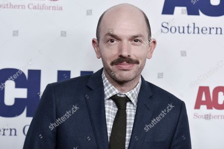 Stock Picture of Paul Scheer attends the 2019 ACLU SoCal's Annual Bill of Rights Dinner, in Beverly Hills, Calif