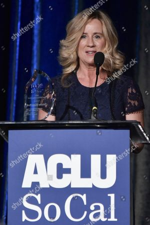 Editorial image of 2019 ACLU SoCal's Annual Bill of Rights Dinner, Beverly Hills, USA - 17 Nov 2019