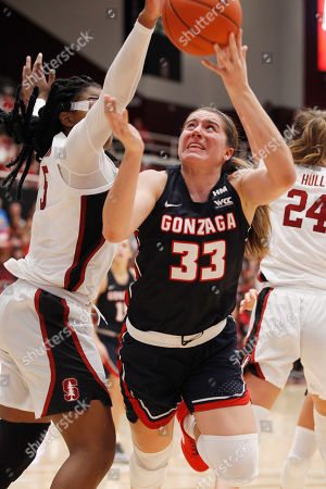 Editorial picture of Gonzaga Basketball, Stanford, USA - 17 Nov 2019