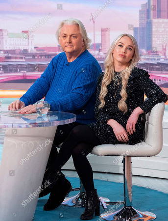 David Emanuel and Jorgie Porter