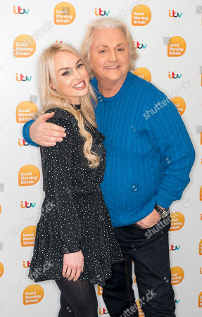 Jorgie Porter and David Emanuel