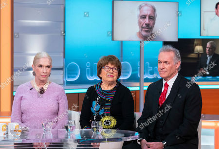 Stock Photo of Lady Colin Campbell, Angela Levin and Dr Hilary Jones