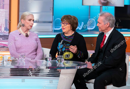 Lady Colin Campbell, Angela Levin and Dr Hilary Jones