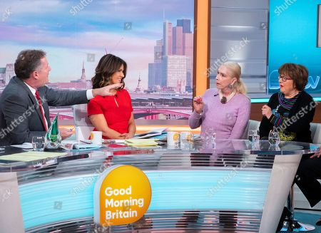 Piers Morgan and Susanna Reid, Lady Colin Campbell, Angela Levin