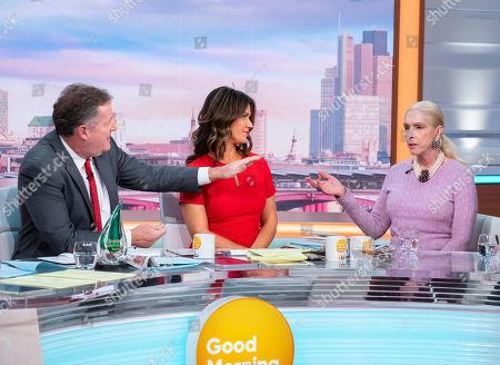 Editorial image of 'Good Morning Britain' TV show, London, UK - 18 Nov 2019