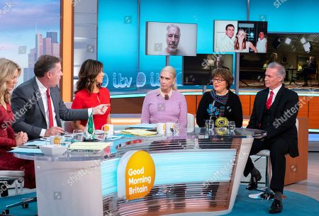Editorial picture of 'Good Morning Britain' TV show, London, UK - 18 Nov 2019