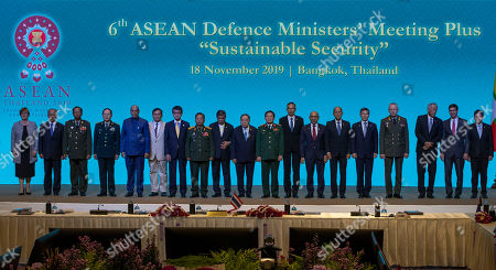 Editorial photo of ASEAN US, Bangkok, Thailand - 18 Nov 2019