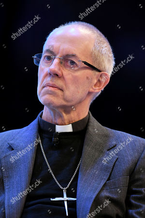 Stock Picture of Justin Welby, Archbishop of Canterbury