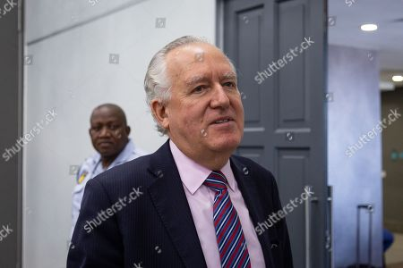 Britian's Lord Peter Hain arrives at the judicial commission of inquiry into state capture held in Johannesburg, South Africa, 18 November 2019. Hain took to the stand at the public hearings where he's testifying about how domestic corruption was facilitated on the international stage to enable money laundering. The official proclamation of the commission in the Government Gazette is that the commission is to inquire, investigate and make recommendations into any and all allegations of state capture, corruption and fraud in the public sector with note to the Gupta brothers, former president Jacob Zuma and his son, Duduzane Zuma.