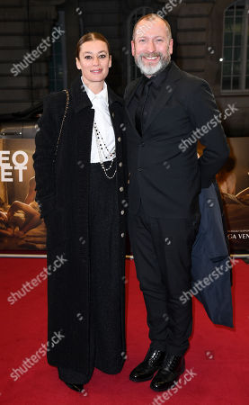 Stock Picture of Aurelie Dupont and guest