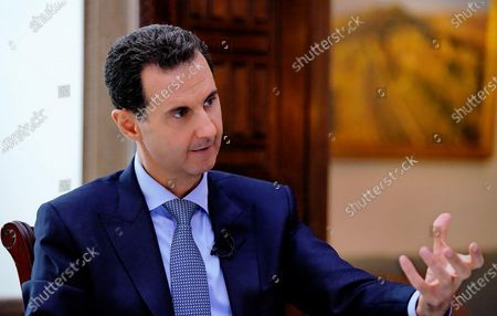 Editorial picture of Syrian President Bashar al-Assad, Damascus, Syria  - 15 Nov 2019
