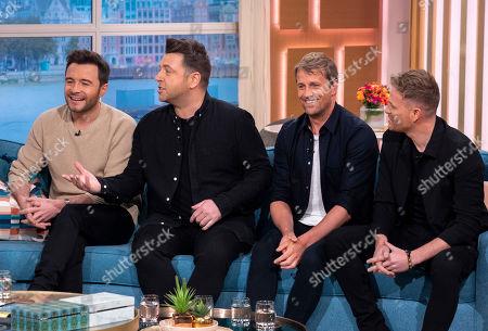 Westlife - Shane Filan, Mark Feehily, Kian Egan and Nicky Byrne