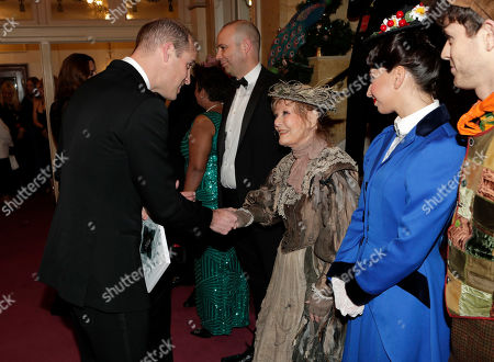 Editorial photo of The Royal Variety Performance, Arrivals, London Palladium, UK - 18 Nov 2019