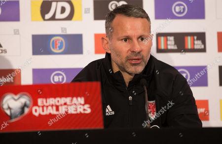Editorial photo of Wales Football Press Conference - 18 Nov 2019