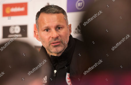 Editorial picture of Wales Football Press Conference - 18 Nov 2019