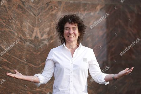 Editorial picture of British writer Jeanette Winterson presents her book 'Frankissstein: A Love Story', Barcelona, Spain - 18 Nov 2019