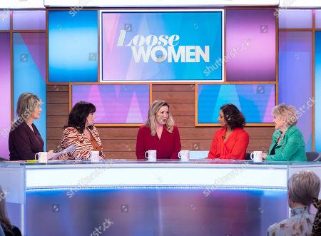 Editorial photo of 'Loose Women' TV show, London, UK - 18 Nov 2019
