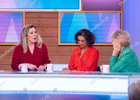 Editorial picture of 'Loose Women' TV show, London, UK - 18 Nov 2019