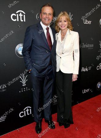 Rick Caruso and Tina Caruso