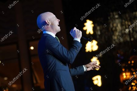 Editorial picture of Christmas At The Grove, Show, Los Angeles, USA - 17 Nov 2019